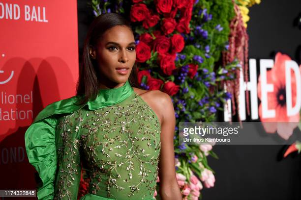 Cindy Bruna attends Rihanna's 5th Annual Diamond Ball Benefitting The Clara Lionel Foundation at Cipriani Wall Street on September 12 2019 in New...