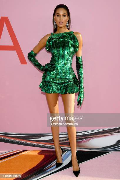 Cindy Bruna attends the CFDA Fashion Awards at the Brooklyn Museum of Art on June 03 2019 in New York City
