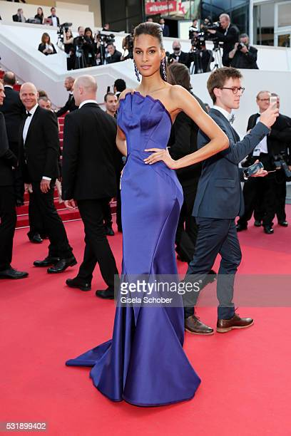 Cindy Bruna attends the Julieta premiere during the 69th annual Cannes Film Festival at the Palais des Festivals on May 17 2016 in Cannes France