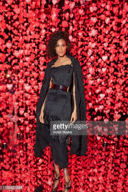 Cindy Bruna attends the Love Ball in aid of the Naked Heart Foundation and Al Shafallah at Museum of Islamic Art on March 29 2019 in Doha Qatar