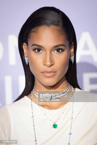 Cindy Bruna attends the MonteCarlo Gala For Planetary Health on September 24 2020 in MonteCarlo Monaco