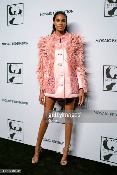 Cindy Bruna attends the Mosaic Federation Gala Against Human Slavery at Cipriani 42nd Street on September 10 2019 in New York City