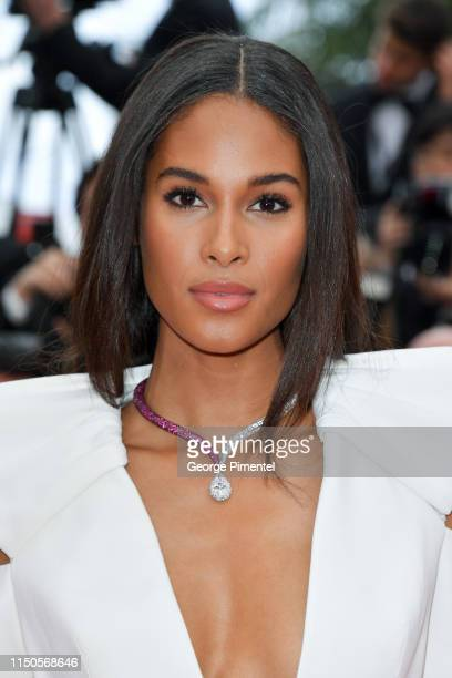 Cindy Bruna attends the screening of Le Belle Epoque during the 72nd annual Cannes Film Festival on May 20 2019 in Cannes France