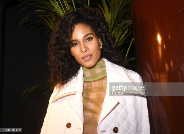 Cindy Bruna attends Women to Women Auction Party at les Bains on February 27 2020 in Paris France