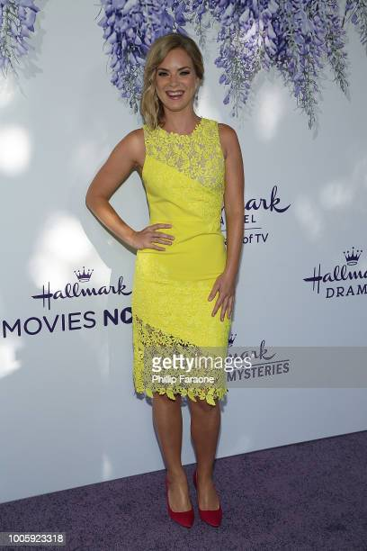 Cindy Busby attends the 2018 Hallmark Channel Summer TCA at a private residence on July 26 2018 in Beverly Hills California