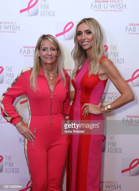Cindy Citrone and Giuliana Rancic attend The Pink Agenda's Annual Gala at Tribeca Rooftop on October 11 2018 in New York City