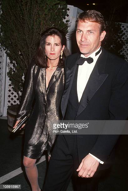 Cindy Costner and Kevin Costner during 1st Annual Movie Awards at Universal Ampitheater in Universal City California United States