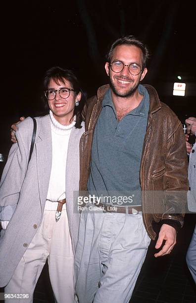 Cindy Costner and Kevin Costner