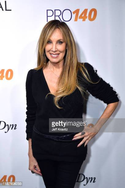 Cindy Cowan attends CytoDyn's Pro 140 Awareness Event for HIV and Cancer Prevention at The Roosevelt Hotel in Hollywood on February 28 2019 in Los...