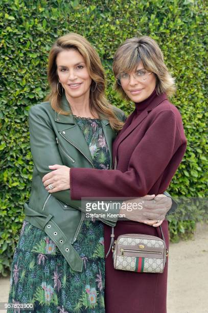 Cindy Crawford and Lisa Rinna attend 2018 Best Buddies Mother's Day Brunch Hosted by Vanessa Gina Hudgens on May 12 2018 in Malibu California