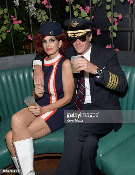 Cindy Crawford and Rande Gerber attend Casamigos Halloween party at CATCH Las Vegas at ARIA Resort & Casino on October 27, 2018 in Las Vegas, Nevada.