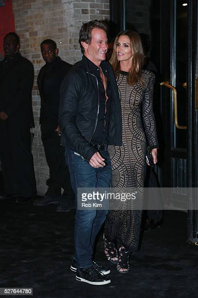 Cindy Crawford and Rande Gerber attend the afterparty for Manus x Machina Fashion In An Age Of Technology Costume Institute Gala at The Gilded Lily...