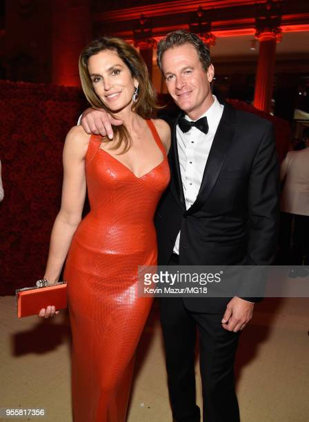Cindy Crawford and Rande Gerber attend the Heavenly Bodies: Fashion & The Catholic Imagination Costume Institute Gala at The Metropolitan Museum of...