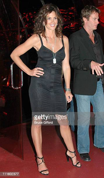 Cindy Crawford and Rande Gerber during Grand Opening of Cherry Nightclub in Las Vegas April 22 2006 at Red Rock Casino Resort and Spa in Las Vegas...