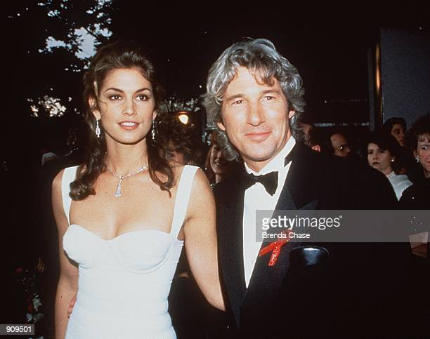 Cindy Crawford and Richard Gere Stock photo Photo by Brenda Chase/Online USA Inc