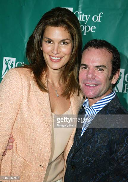 Cindy Crawford and Stephen Knoll during Cindy Crawford Honored as City of Hope's Woman of The Year at the 2004 Spirit of Life Luncheon at The...