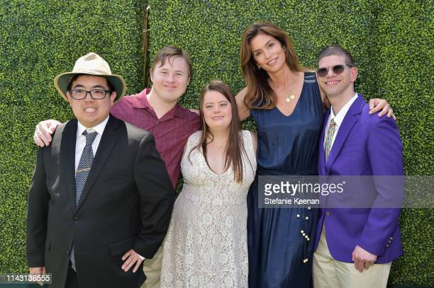 Cindy Crawford andBest Buddies Ambassadors attend the 3rd Annual Best Buddies Mother's Day Celebration Featuring Title Sponsor Hublot at La Villa...