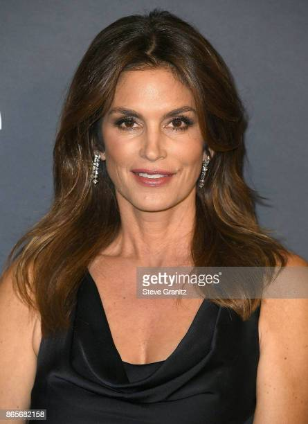 Cindy Crawford arrive at the 3rd Annual InStyle Awards at The Getty Center on October 23 2017 in Los Angeles California