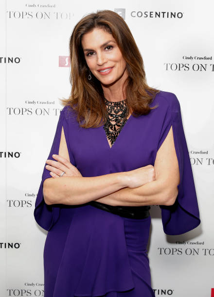 TX: Tops On Tops Campaign Celebration With Cindy Crawford