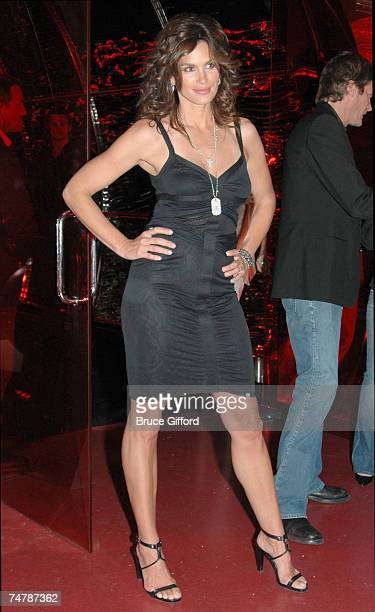 Cindy Crawford at the Grand Opening of Cherry Nightclub in Las Vegas April 22 2006 at Red Rock Casino Resort and Spa in Las Vegas Nevada