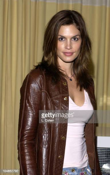 Cindy Crawford at the party for the launch of CIROC Vodka