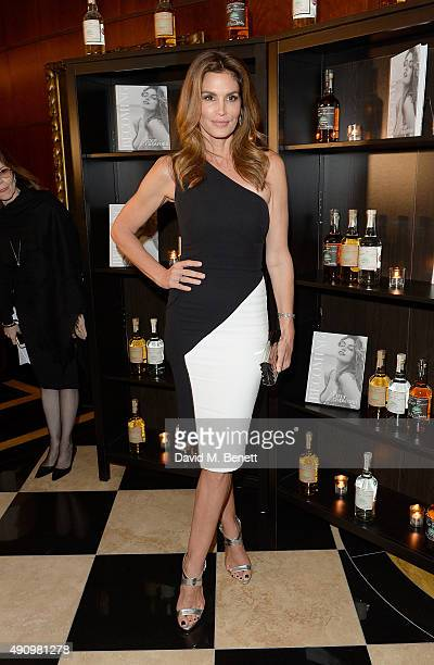 Cindy Crawford attend the London launch of Casamigos Tequila and Cindy Crawford's book 'Becoming' hosted by Rande Gerber George Clooney and Michael...