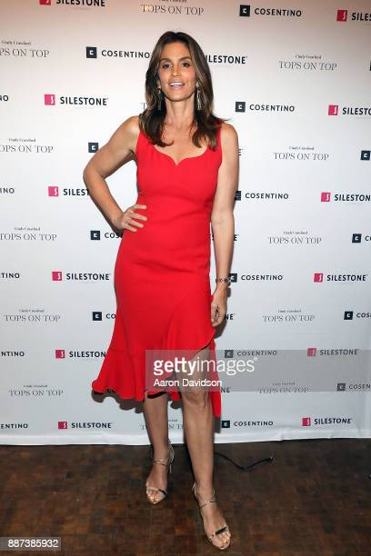 Cindy Crawford attends Art Basel Miami Beach 2017 Eduardo Cosentino Cindy Crawford CoHost Exclusive Dinner With Chef Jose Andres at TATEL Miami on...
