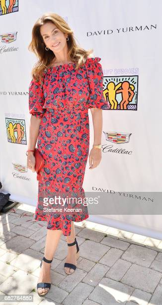 Cindy Crawford attends Cindy Crawford and Kaia Gerber host Best Buddies Mother's Day Brunch in Malibu CA sponsored by David Yurman on May 13 2017 in...