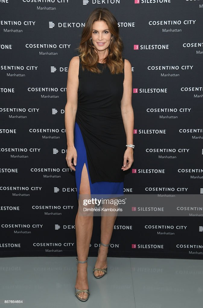 Cindy Crawford Talking Top Design