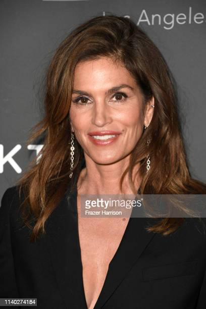 Cindy Crawford attends Cosentino LA City Center Grand Opening at Cosentino LA City Center on April 03 2019 in West Hollywood California