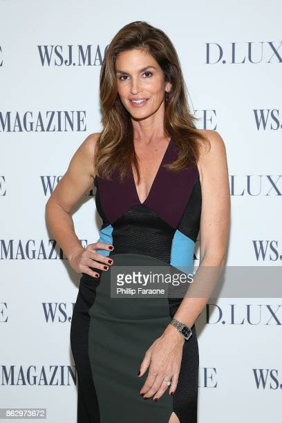 Cindy Crawford attends DLUXE presented by WSJ Magazine at The Montage Laguna Beach on October 18 2017 in Laguna Beach California
