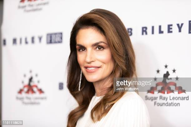 Cindy Crawford attends Sugar Ray Leonard Foundation's 10th Annual 'Big Fighters Big Cause' Charity Boxing Night at The Beverly Hilton Hotel on May 22...