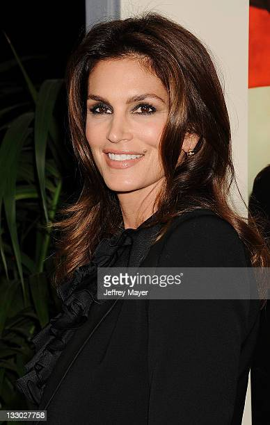 Cindy Crawford attends 'The Descendants' Los Angeles Premiere at AMPAS Samuel Goldwyn Theater on November 15 2011 in Beverly Hills California