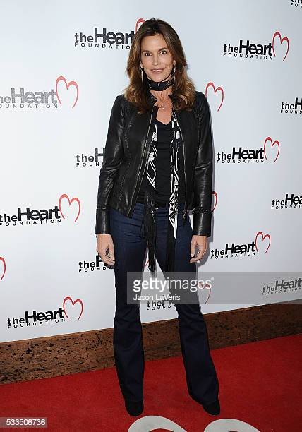 Cindy Crawford attends The Heart Foundation event at Ron Burkle's Green Acres Estate on May 21 2016 in Beverly Hills California