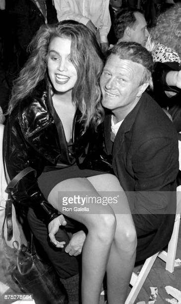 Cindy Crawford attends The Love Ball Benefit on May 10 1989 at Roseland Ballroom in New York City