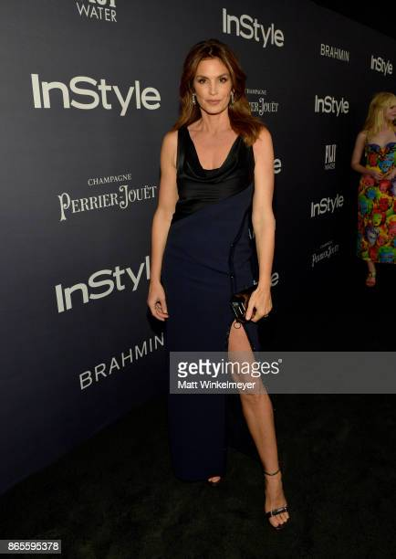 Cindy Crawford attends the Third Annual 'InStyle Awards' presented by InStyle at The Getty Center on October 23 2017 in Los Angeles California
