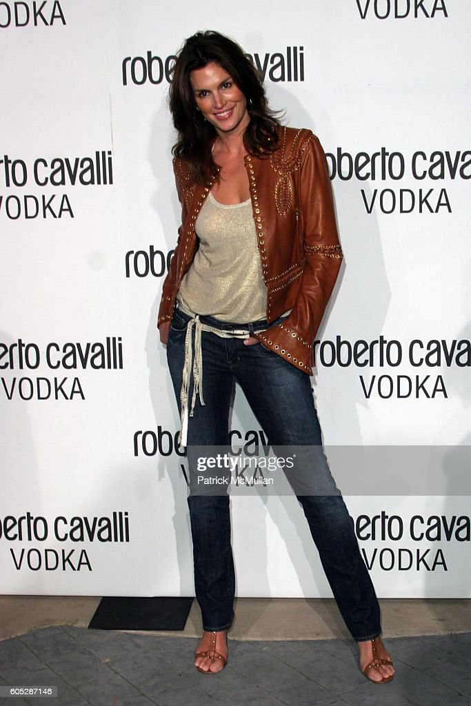 f4c10055ea Cindy Crawford attends U.S. Launch Of Roberto Cavalli Vodka - Arrivals at  Private Residence on May