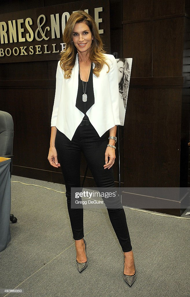 """Cindy Crawford Book Signing For """"Becoming Cindy Crawford"""""""