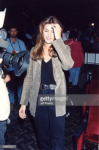 Cindy Crawford during 1994 MTV Video Music Awards at Radio City Music Hall in New York City New York United States