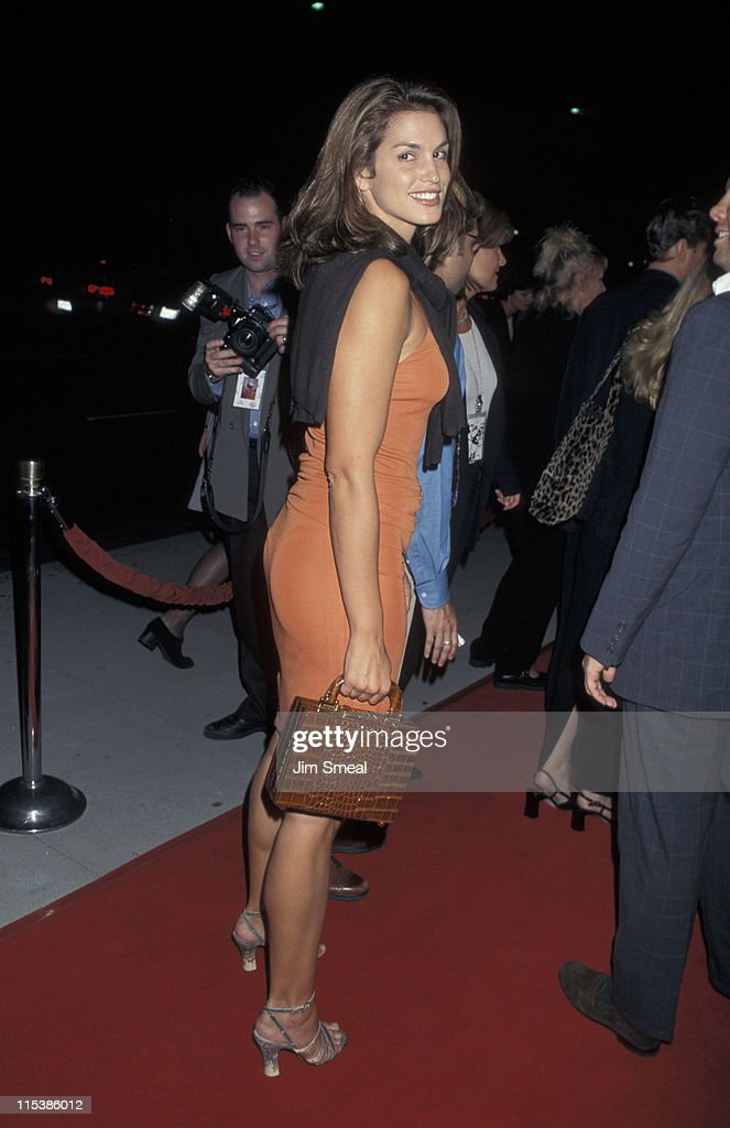 Cindy Crawford during 'A Thousand Acres' Premiere at The Academy in Beverly Hills, California, United States.