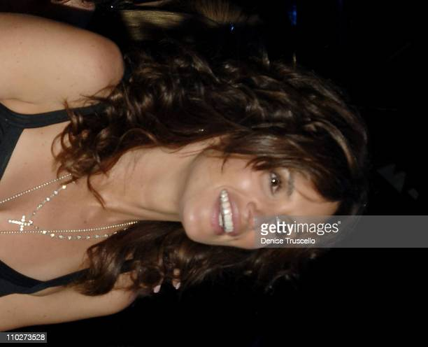 Cindy Crawford during Cherry Bar Grand Opening at Red Rock Casino Resort and Spa at Cherry Bar at Red Rock Casino Resort and Spa in Las Vegas Nevada