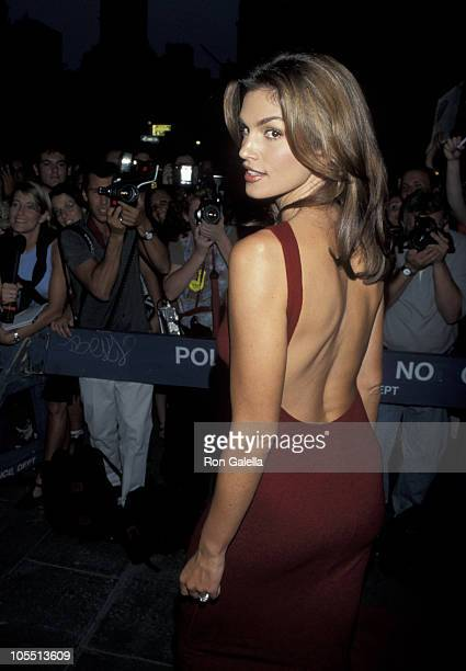 Cindy Crawford during Christie Hefner Hosts a Party for Cindy Crawford September 14 1998 at Whiskey Park in New York City New York United States