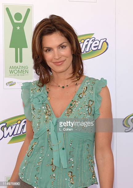 Cindy Crawford during Cindy Crawford Announces the Winners of the First Annual Swiffer Amazing Women of the Year Awards at Regent Beverly Wilshire in...