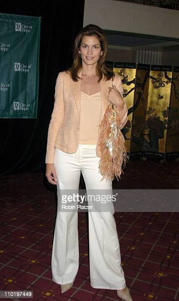Cindy Crawford during Cindy Crawford Honored as City of Hope's Woman of The Year at the 2004 Spirit of Life Luncheon at The WaldorfAstoria in New...