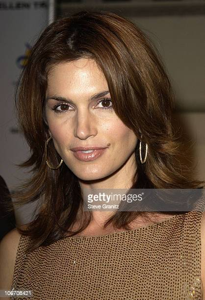 Cindy Crawford during Dream Foundation Hosts StarStudded Extravaganza Fundraiser 'Le Cabaret des Reves' at Park Plaza Hotel in Hollywood California...