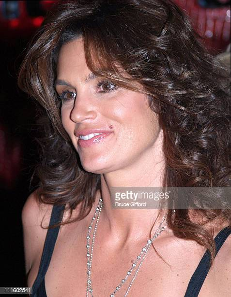 Cindy Crawford during Grand Opening of Cherry Nightclub in Las Vegas April 22 2006 at Red Rock Casino Resort and Spa in Las Vegas Nevada United States