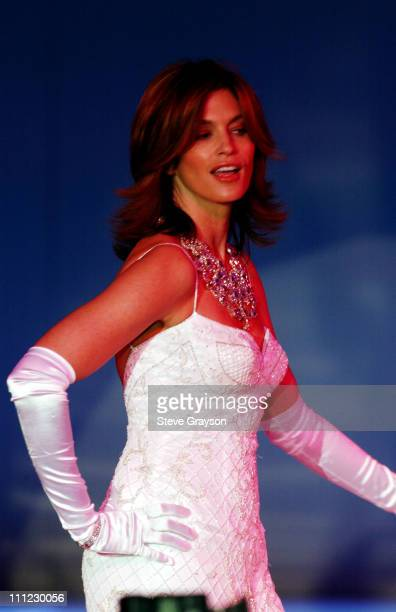 Cindy Crawford during Runway For Life Fashion Show to Benefit St Jude Children's Research Hospital Show at The Beverly Hilton Hotel in Beverly Hills...