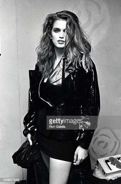 Cindy Crawford during 'The Love Ball' AIDS Benefit May 10 1989 at Roseland Ballroom in New York City New York United States