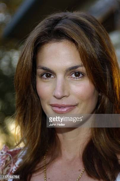 Cindy Crawford during Wendy Jo Sperber's 6th Annual Celebrity Golf Classic at Glennie Golf Course in Goleta California United States