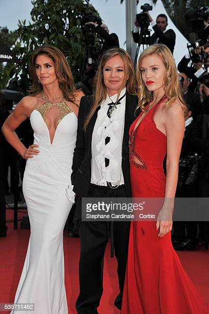 Cindy Crawford Eva Cavalli and Georgia May Jagger attend the Opening Ceremony and 'The Great Gatsby' Premiere during the 66th Cannes International...
